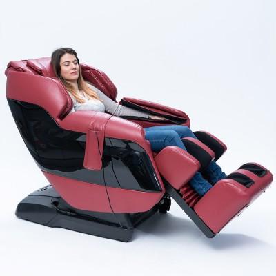 Scaun de masaj GJ-6200 cu mecanism inteligent de scanare - Roșu