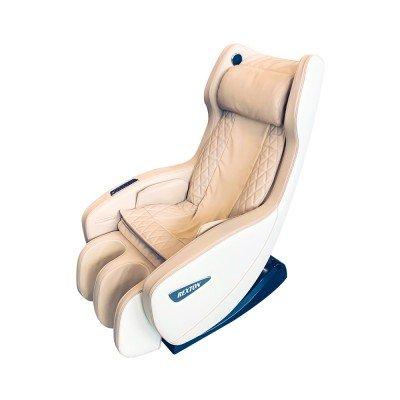 Scaun de masaj RK-1900B-BG cu dimensiuni compacte și Bluetooth - bej