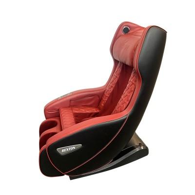 Scaun de masaj RK-1900B-RED cu dimensiuni compacte și Bluetooth - Roșu