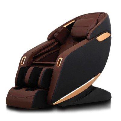 Scaun de masaj profesional REXTON Z1-BR cu masaj 3D, încălzire în infraroșu și Bluetooth
