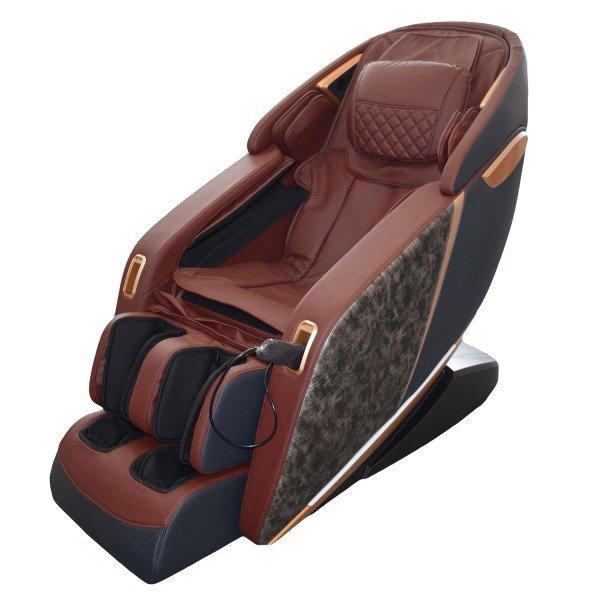 Scaun de masaj profesional REXTON Z1-CR cu masaj 3D, încălzire în infraroșu și Bluetooth