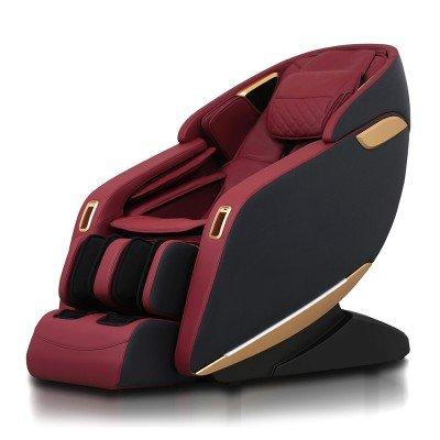 Scaun de masaj profesional REXTON Z1-RED cu masaj 3D, încălzire în infraroșu și Bluetooth